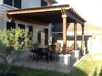Marvelous Patio Arbor, Friendswood, TX