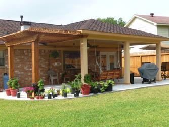 Perfect The U0027Breeru0027 Shade Arbor And Patio Cover Combination