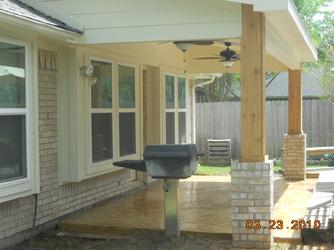 Spring, TX Patio Cover