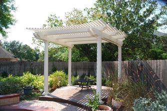 Aluminum Shade Arbor Houston