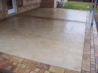 Stamped And Stained Concrete Houston