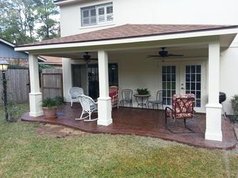 Beautiful Patio Cover Friendswood