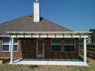 Metal Shade Arbor and Pergola Houston
