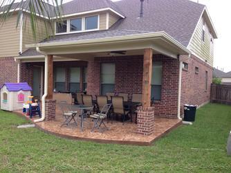 Backyard Patio Cover Kingwood