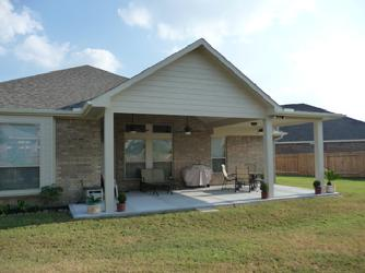 The U0027Talleyu0027 Hip And Gable Patio Cover Combination