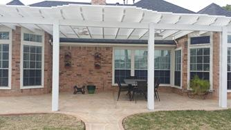 arbor, deer park, covered patio